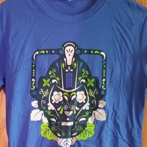 Tops - Day of the Dead Cyberman Tshirt